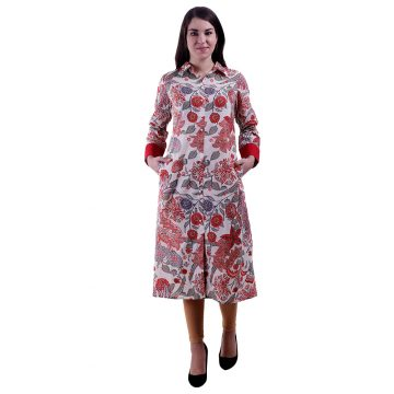 Multi Color A Line Kurti For Women (Jasmine)