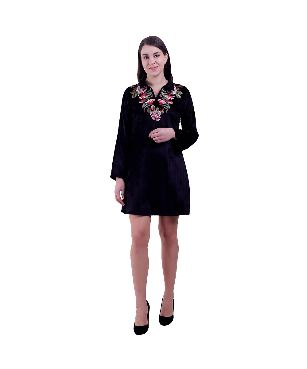 Women Black Dress (Roselet)