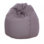 Grey Organic Cotton Bean Bag Cover
