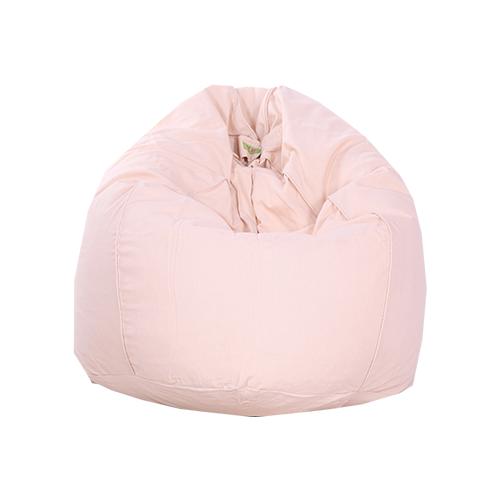 baby pink bean bag