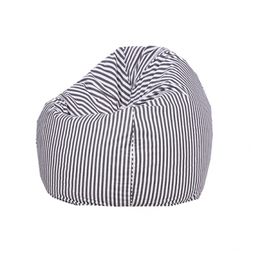 Black and White Organic Cotton Bean Bag Cover-10052294_0