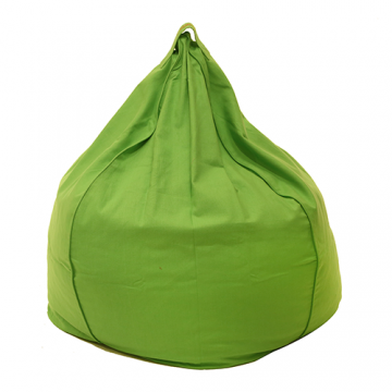 Green Organic Cotton Bean Bag Cover