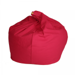 Red Organic Cotton Bean Bag Cover