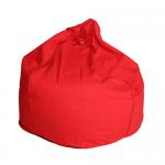 Orange Organic Cotton Bean Bag Cover