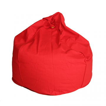 Orange Organic Cotton Bean Bag Cover