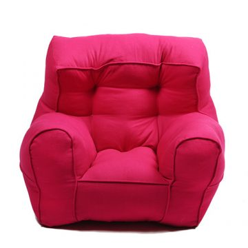 Pink Organic Cotton Kid's Sofa