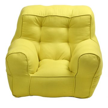 Yellow Organic Cotton Kid's Sofa