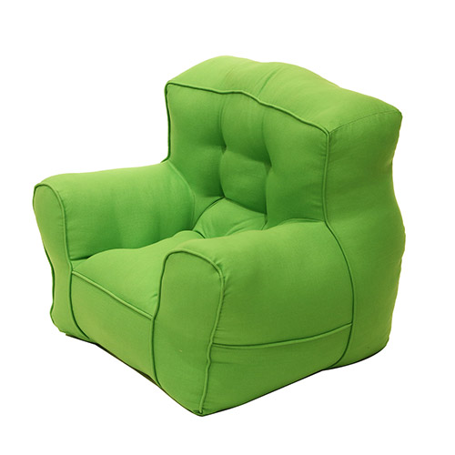 Green Organic Cotton Kid's Sofa