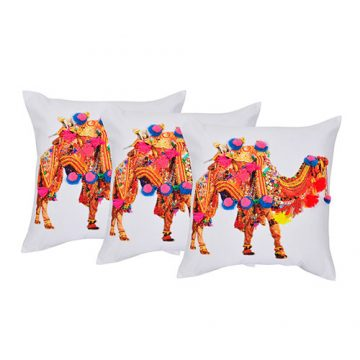 Set of 3 Embellished Cushion Cover