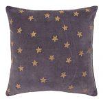 Set of 3 Velvet Purple Color Designer Cushion Cover