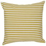 Set of 3  digital printed organic Cotton Striped Cushion Cover