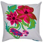 Set of 3 Multi Color Organic Cotton Cushion Covers