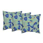 Set of 3 Multi Color Digital Printed Cotton Cushion Cover