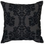 Set of 3 Black and Grey Cotton Cushion Cover