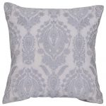 Set of 3 Cotton Grey Cushion Cover