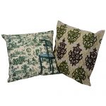 Set of 2 Mix match Multi Color Cushion cover