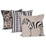 Set of 3 Mix match Cotton Cushion Cover