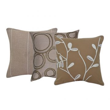 Set of 3 Mix match Multi Color Designer Cotton Cushion Cover