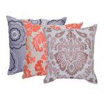 Set of 3 Mix match Multi Color Stylish Cotton Cushion Cover