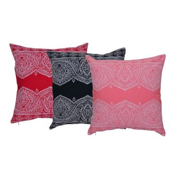 Set of 3 Mix match Multi Color Cotton Cushion Cover Combo