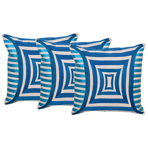 Set of 3 Cotton Printed Designer Cushion Cover