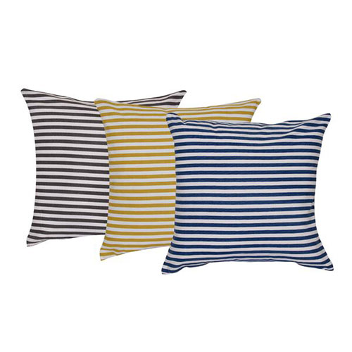 Set of 3 Multi Color Cotton Cushion Cover