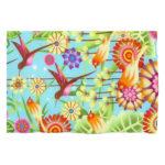 Spring Multi Color Organic Cotton Voile Quilt