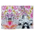 Glo Multi Color Organic Cotton Voile Quilt