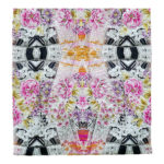 Glo Multi Color Organic Cotton Voile Quilt