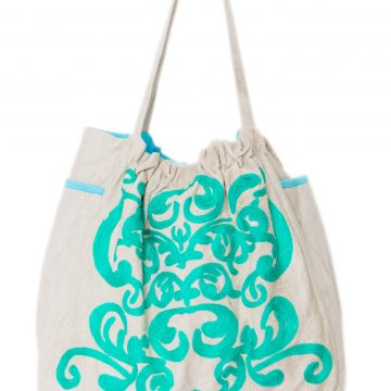 Embroidered Tote Bag for Women (NITTY)