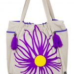 Embroidered Cotton Tote Bag For Women (NITTY2)