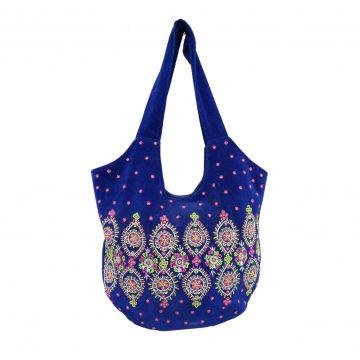 Women Blue Party Bag (PARAG2)