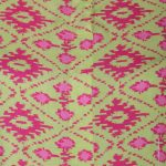 Rayon Fabric Straight Style Pink Green Color Kurta (PINKY)