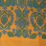 Embroidered Cambric Fabric With Yellow And Green Yoke Color Short Kurti (NETRA)