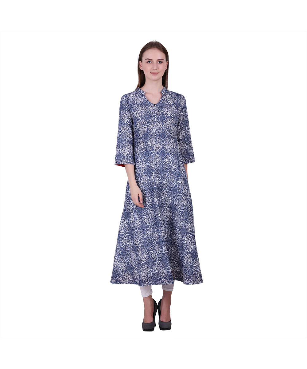 Flaunt Your Love For Ethnic Wear With Printed Kurtis