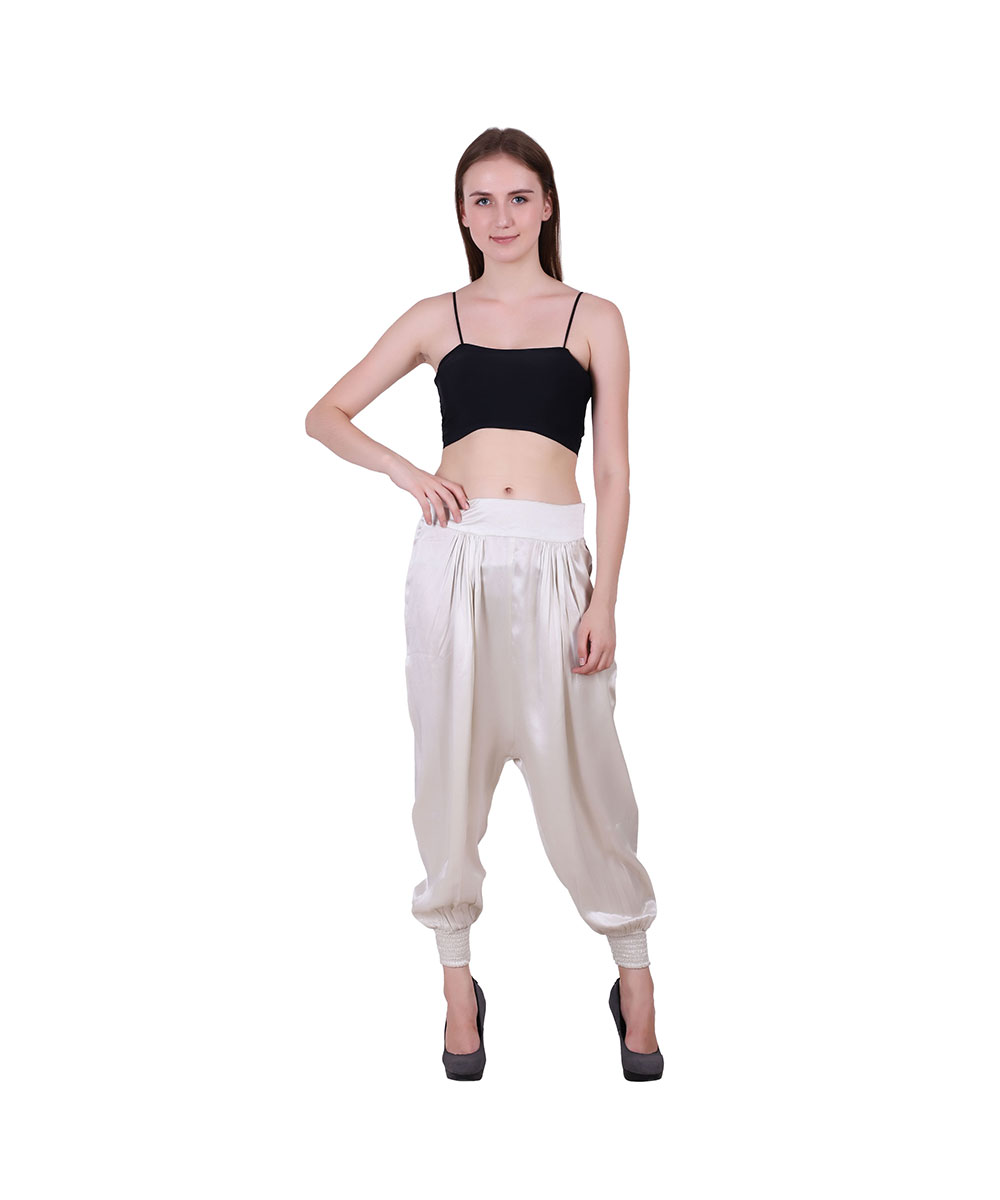 Fabric Herm Style Pants