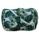 Tropical Leaf Print Organic Cotton Bean Bag Cover