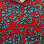 Multicolor Crepe Fabric Floral Printed Straight Kurta