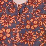 Multicolor Cambric Hand Block Print Kurta