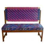 Digital Print Cushioned Bench