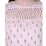 Georgette Sleeveless Party Wear Long Dress for Women (Naitee)