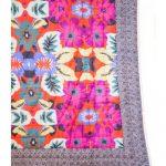 Digital Floral Print quilt