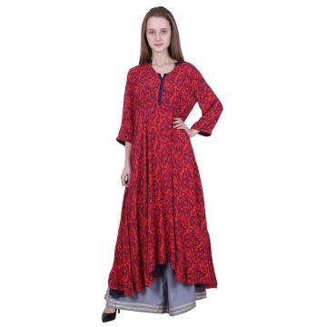 Georgette Printed Dress