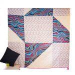 Multicolor Digital Print Jaipuri Cotton Voile Quilt