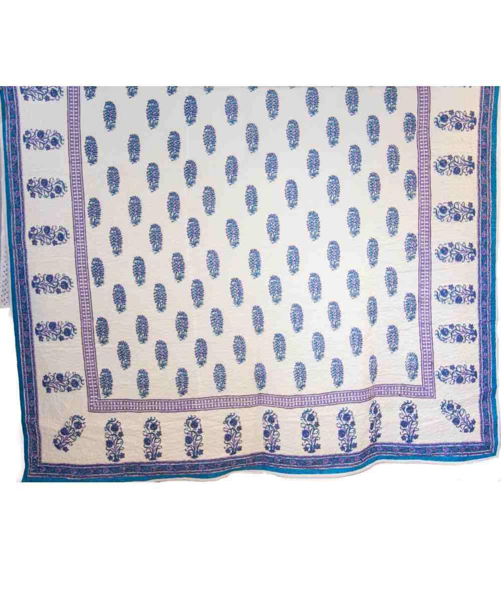 Jaipuri Block Print Quilt