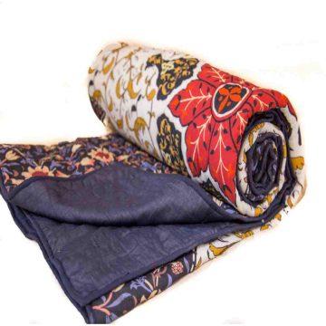 Jaipuri black Quilt