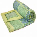 Multicolor Green Quilt