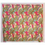 Digital Leaf Print Jaipuri Cotton Voile Quilt
