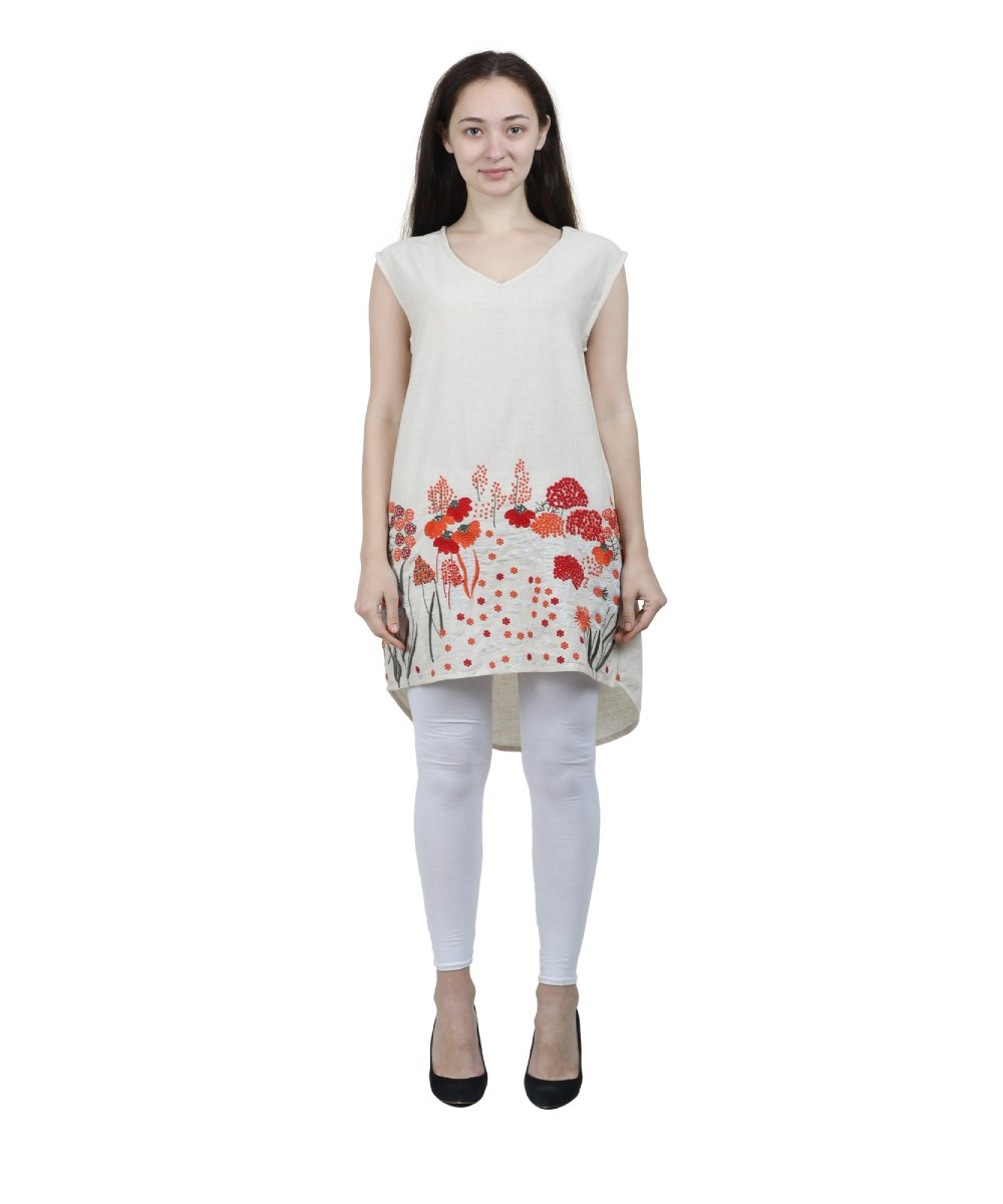 Embroidered Tunic for Girls