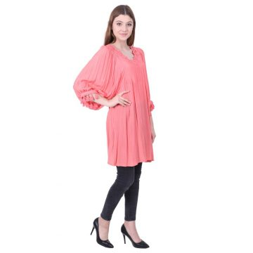 Pink Cotton Tunic